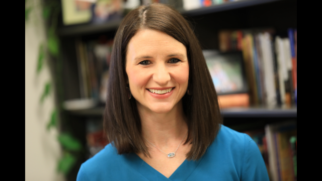 Dr. Brooke Blevins Named Strickland Endowed Chair in School of Education