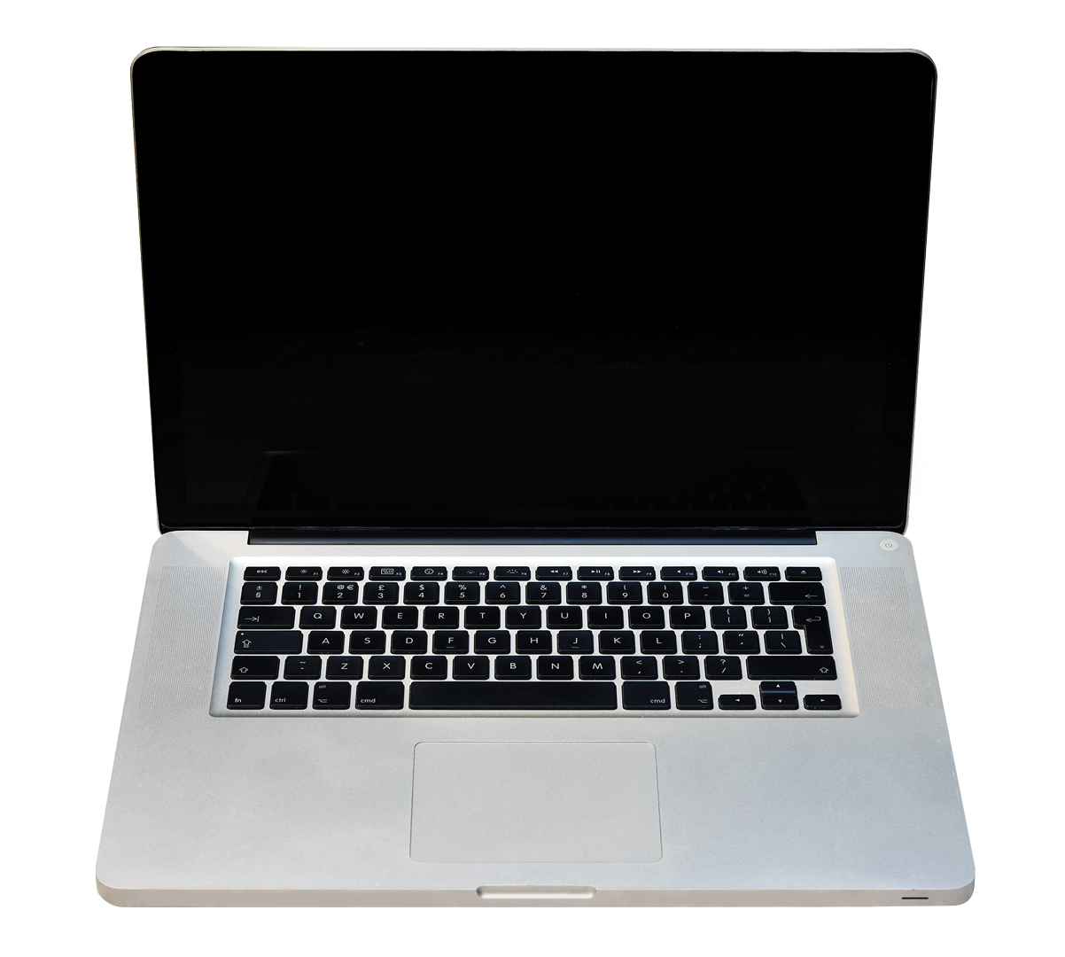 Image of a laptop computer used as a decorative background
