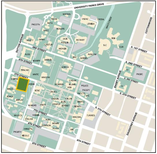5th Street Garage Map