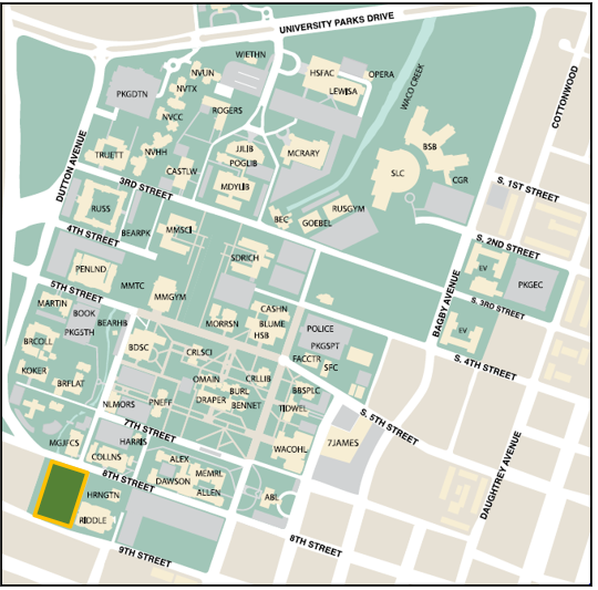 8th Street Garage map