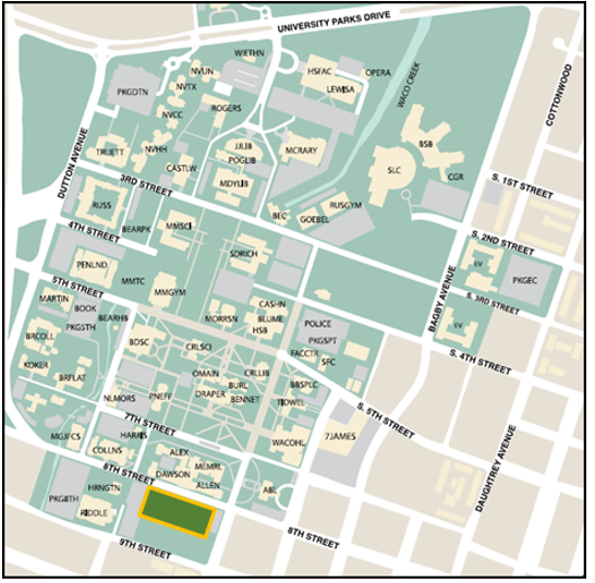 8th Street Surface Map