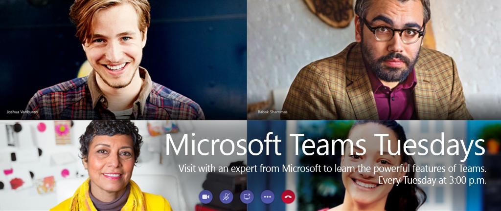 Microsoft Teams Tuesdays