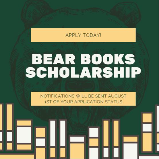 Bear Book Scholarships Banner