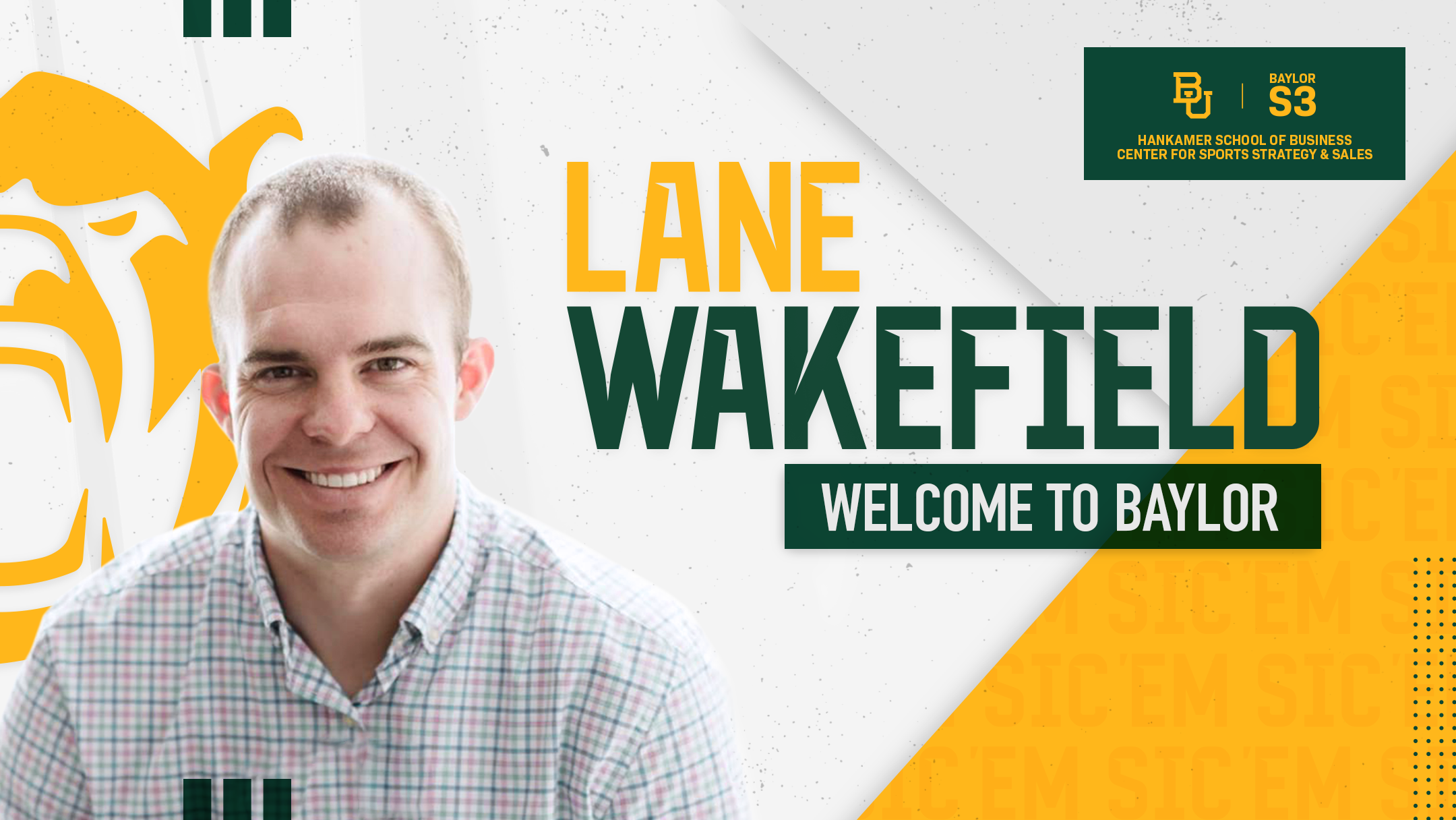 Baylor S3 Welcomes Dr. Lane Wakefield as Director