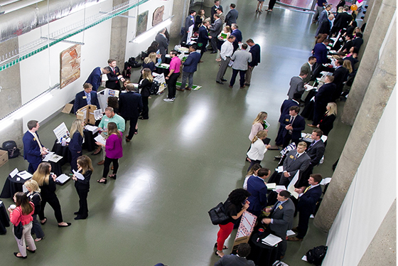 A room full of participants at a convention