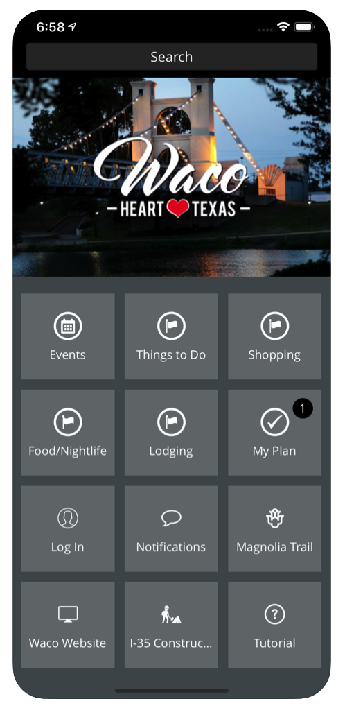 Waco CVB App