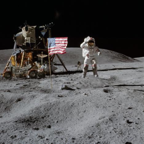 Apollo 16 Moon Landing