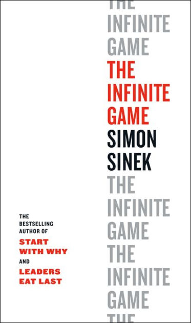 book cover of The Infinite Game