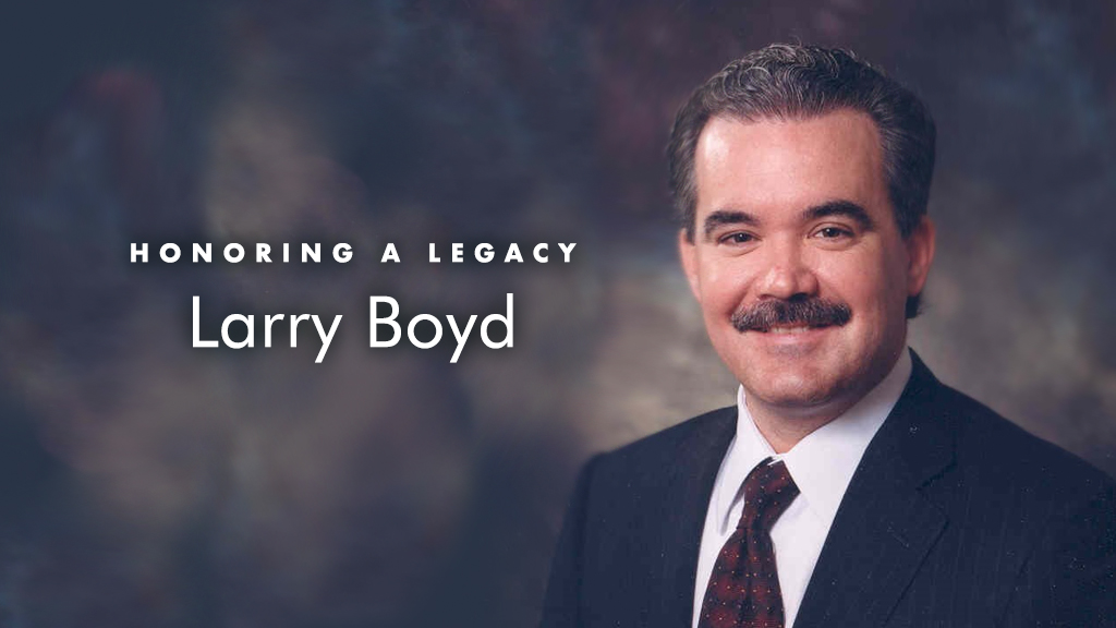 In Memory of Larry Boyd
