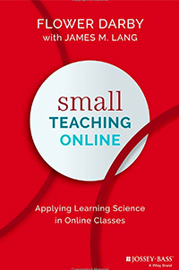 Book Cover for Small Teaching Online