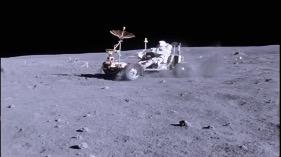 Cosmic Dust - NASA lunar rover