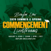 2020 Summer and Spring Commencement Ceremonies
