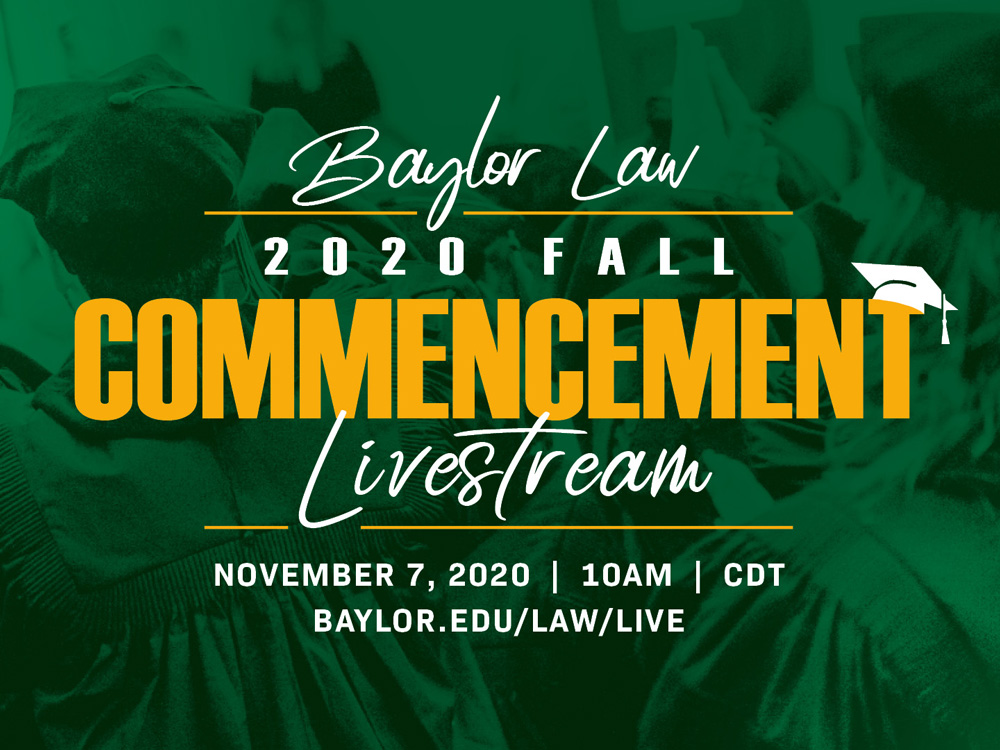 2020 Summer and Spring Commencement