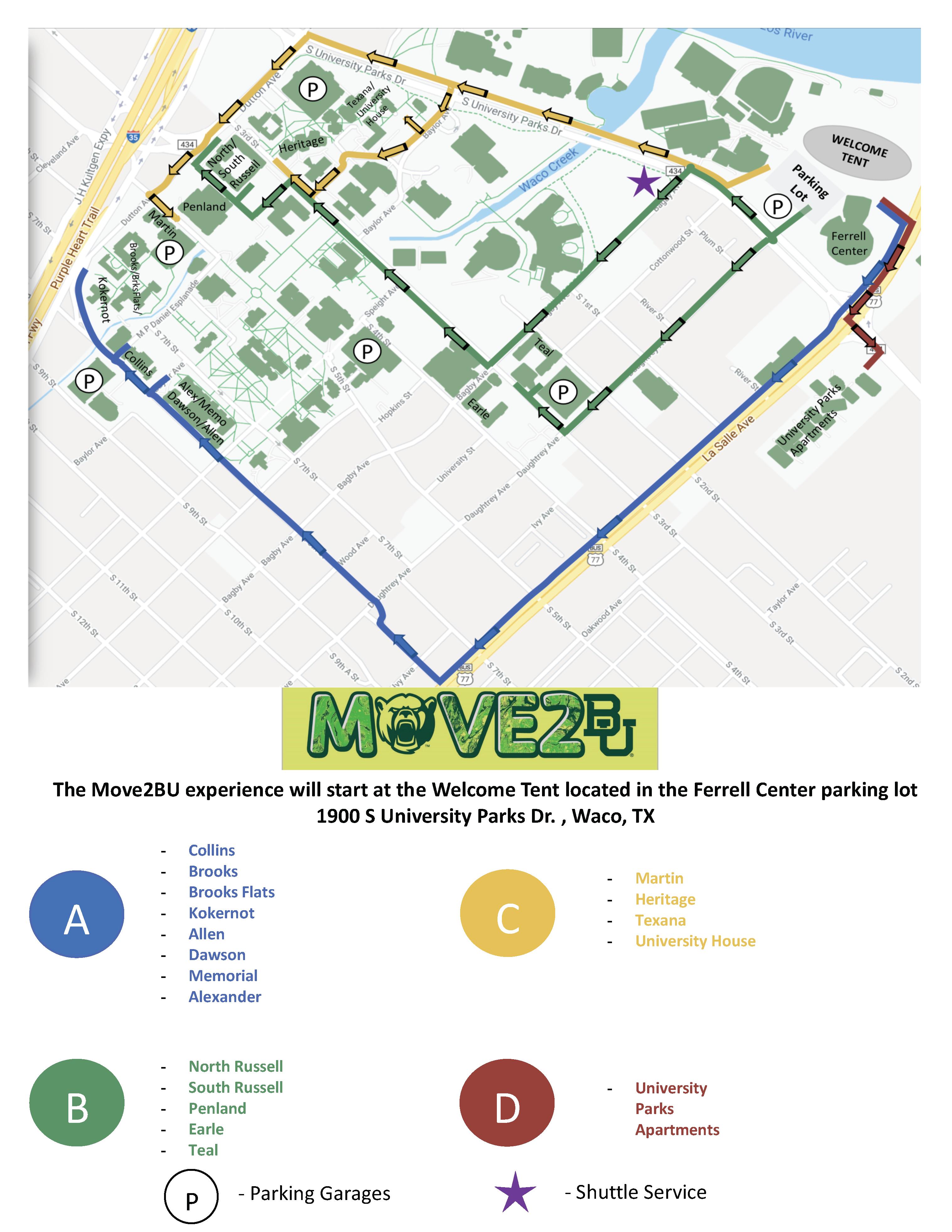 Move 2 B U Map