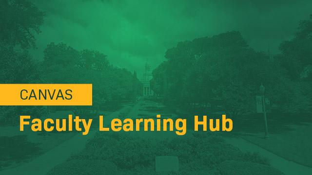 Faculty Learning Hub