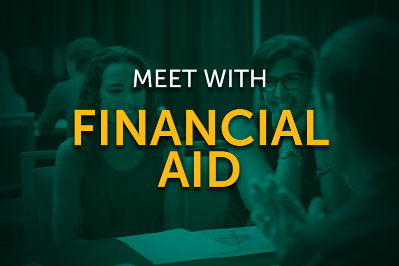 Meet with Financial Aid