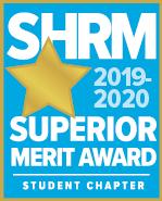 SHRM Superior Merit Award Badge