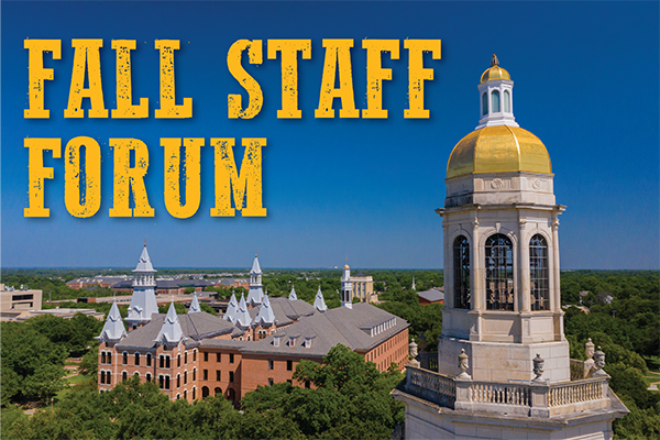 Virtual Fall Staff Forum
