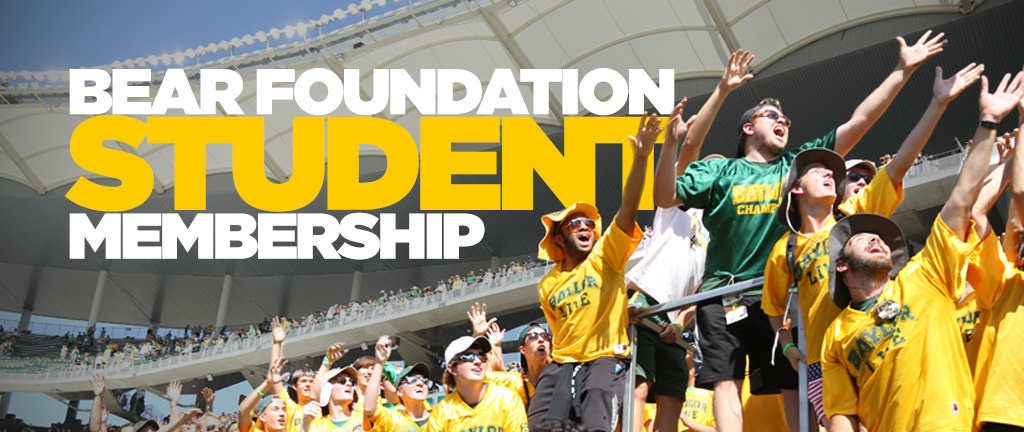 Bear Foundation Student Membership