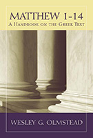 Matthew 1-14 book cover