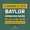 Baylor Missions Week Goes Virtual