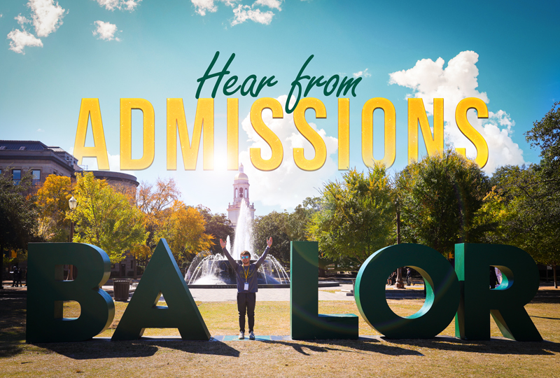 Hear from Admissions
