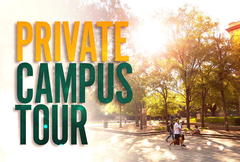 Private Campus Tour