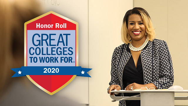 Baylor University Earns Honor Roll Designation as a 2020 Great College to Work For