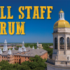 2020 Virtual Fall Staff Forum Video Available Online