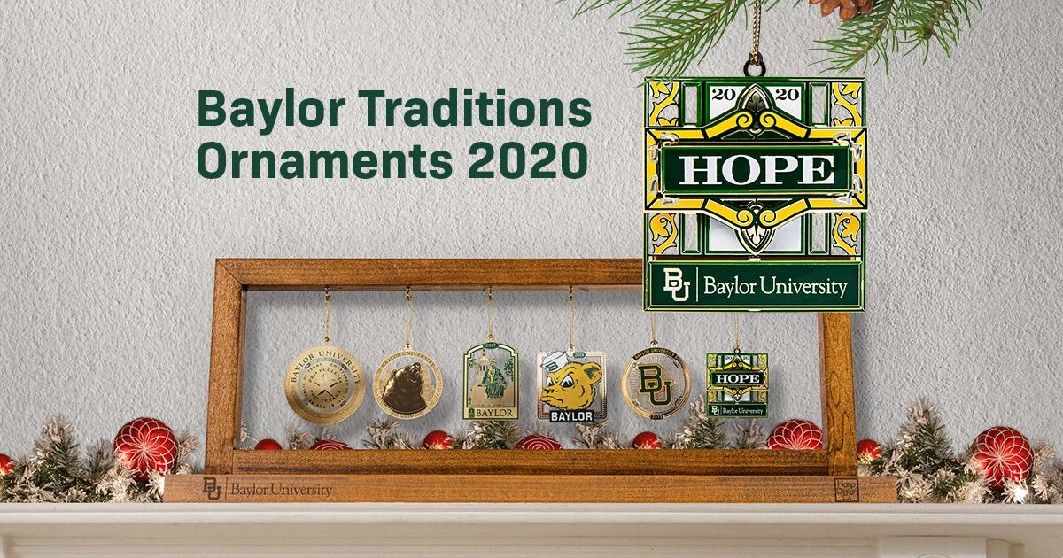 2020 Christmas Ornament   Baylor University