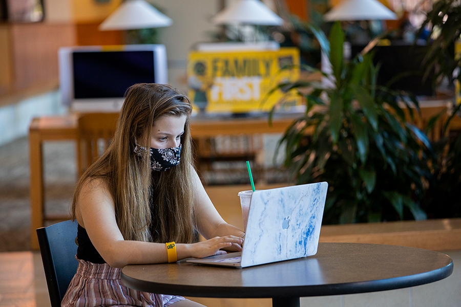 Girl_Mask_Laptop