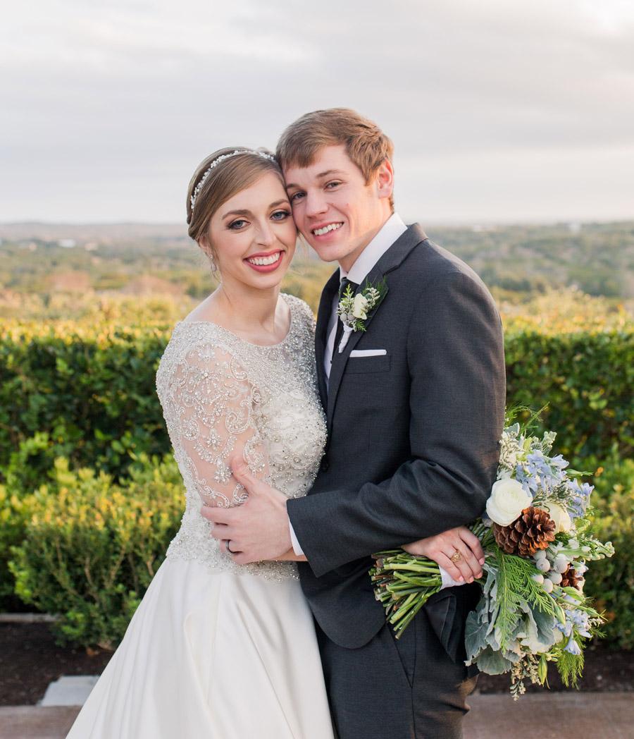 Aaron Duke, BS '14, and Jessica Duke, DPT '19
