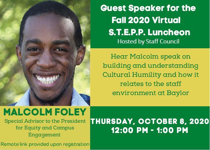 STEPP Luncheon 2020 Invite