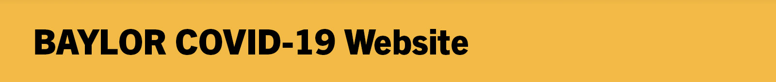Main Baylor Website Header