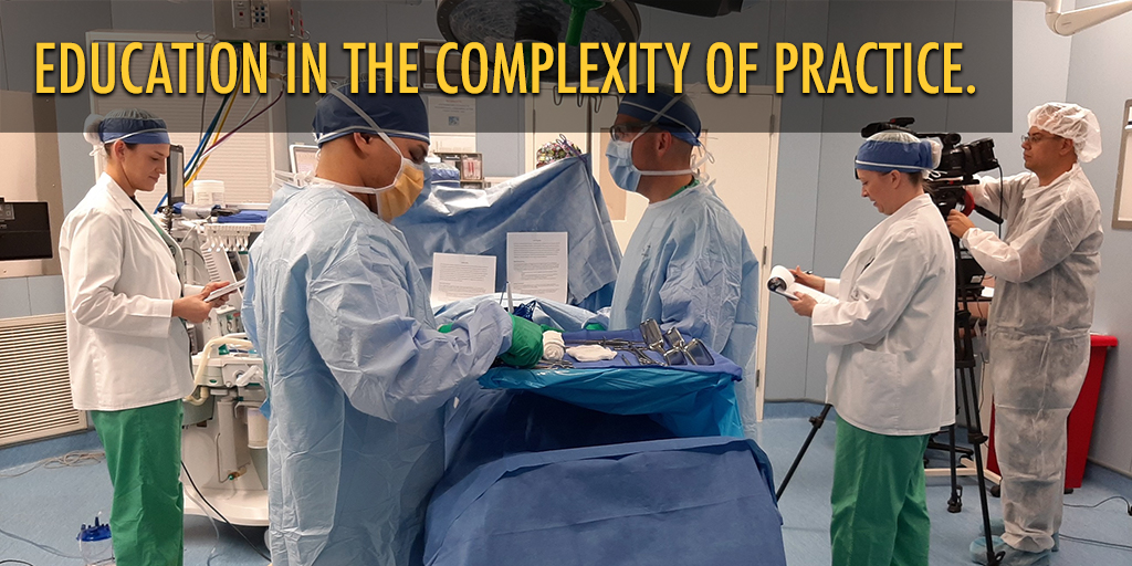 Education in the Complexity of Practice