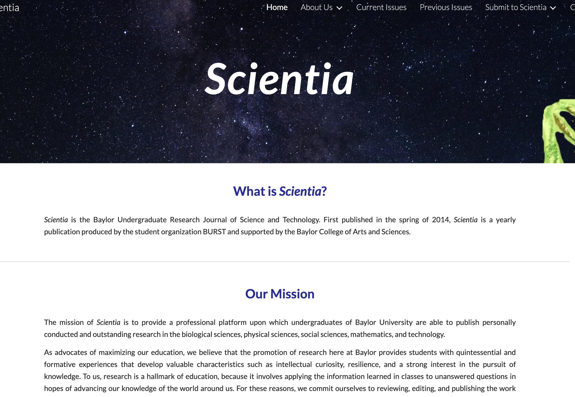 Scientia Website Thumbnail