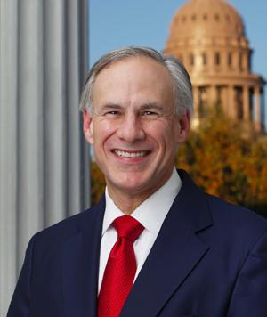 Portrait of Governor Abbott