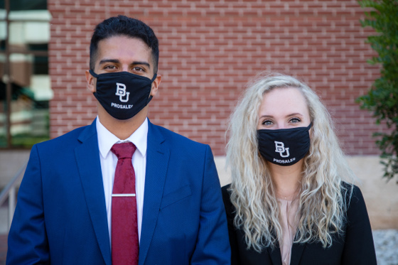 Students wearing Pro Sales Face Masks