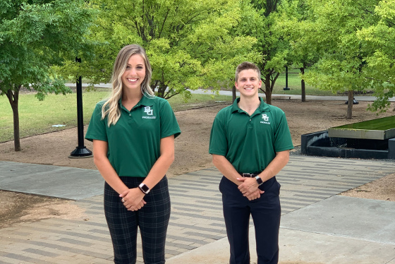 Students wearing Pro Sales Polo shirt