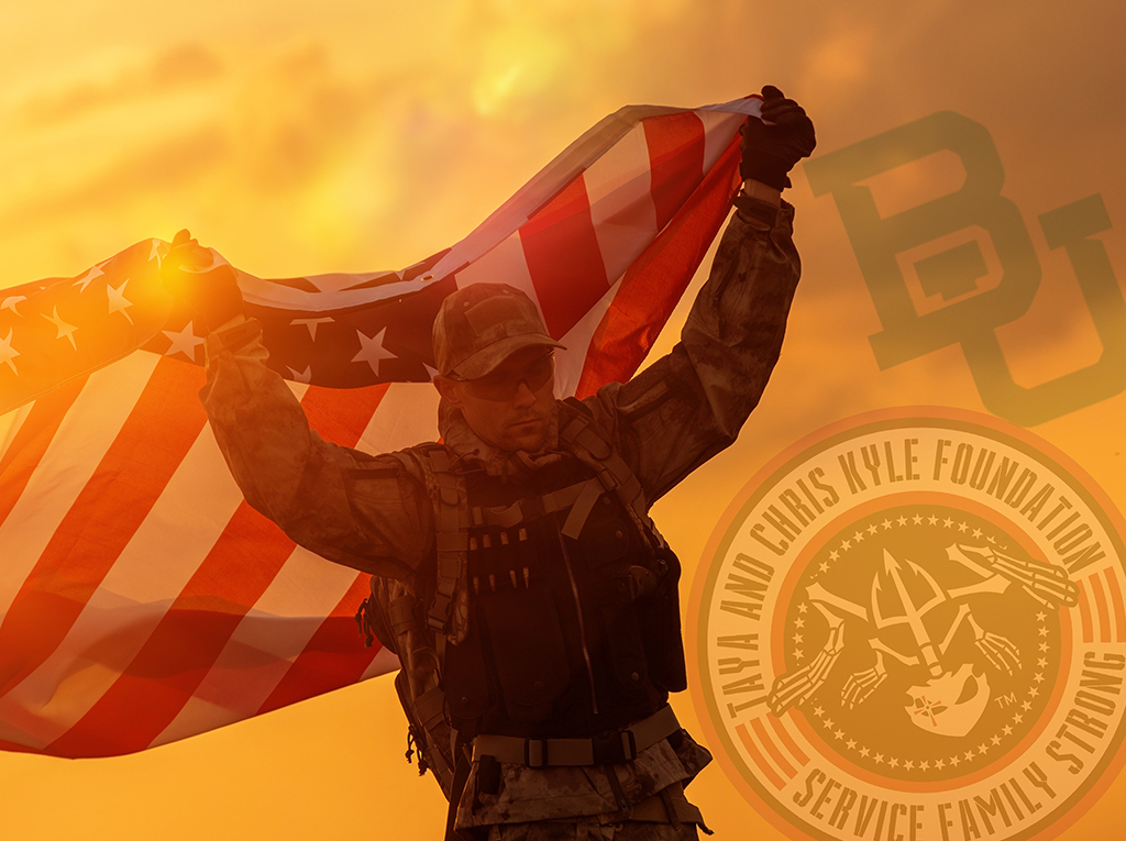 Soldier with flag_logos_1024px
