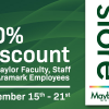 Mayborn Discount for Baylor Faculty & Staff