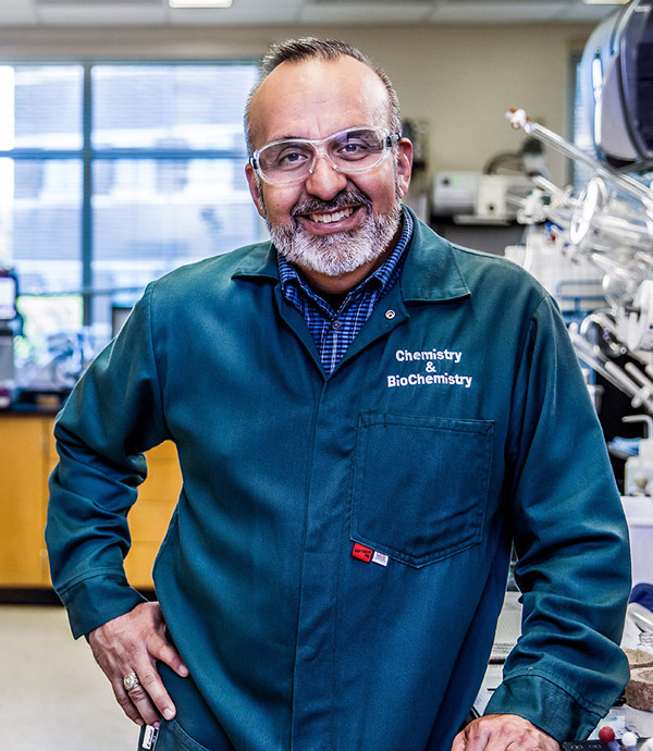 Chemistry professor and cancer researcher Daniel Romo