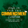 2020 Fall Commencement Ceremony