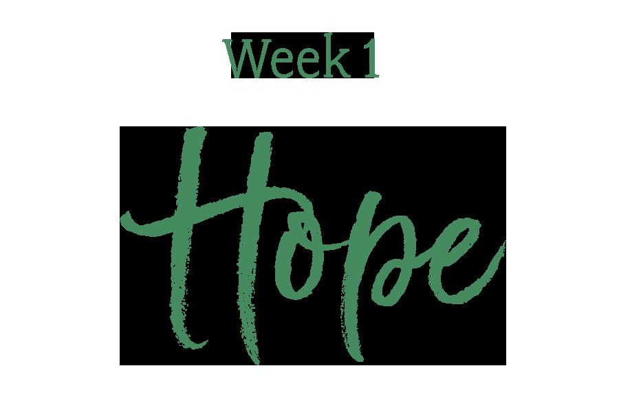 Week 1: Hope