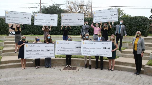 Full-Size Image: Philanthropy Lab Grant Checks