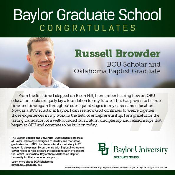 Russell Browder BCU ad