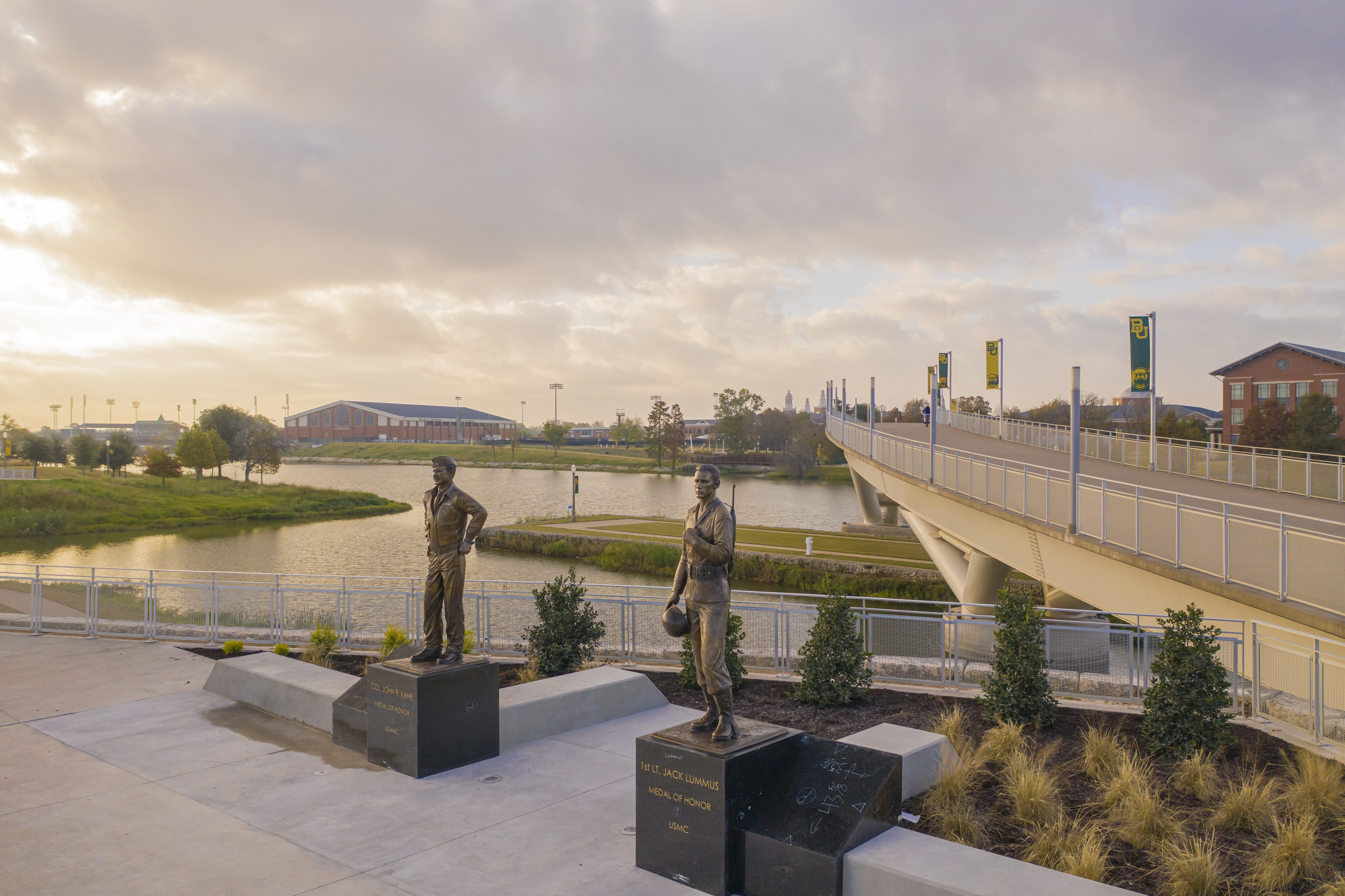 Baylor University Announces Statues Honoring Medal of Honor Recipients