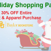 Baylor Bookstore Holiday Coupon