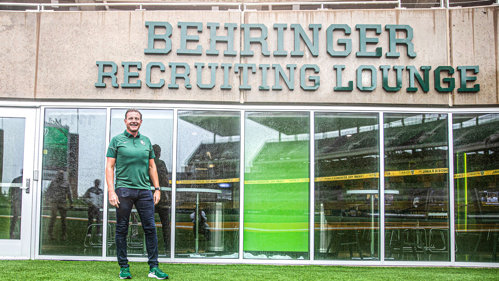 Behringers Lend Name to McLane Stadium Recruiting Lounge