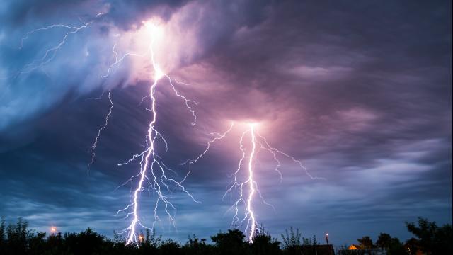 Full-Size Image: Thunderstorm